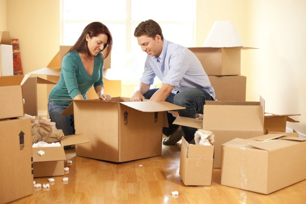 Image showing boxes that can be stored when looking to move home