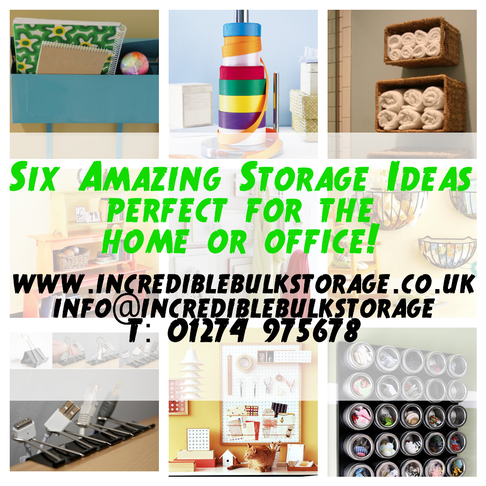 Six Amazing Storage Ideas