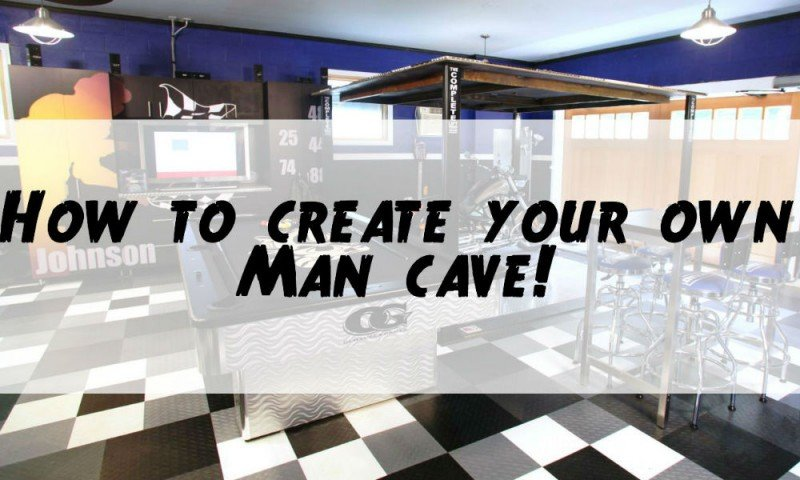 How to create the perfect Man cave