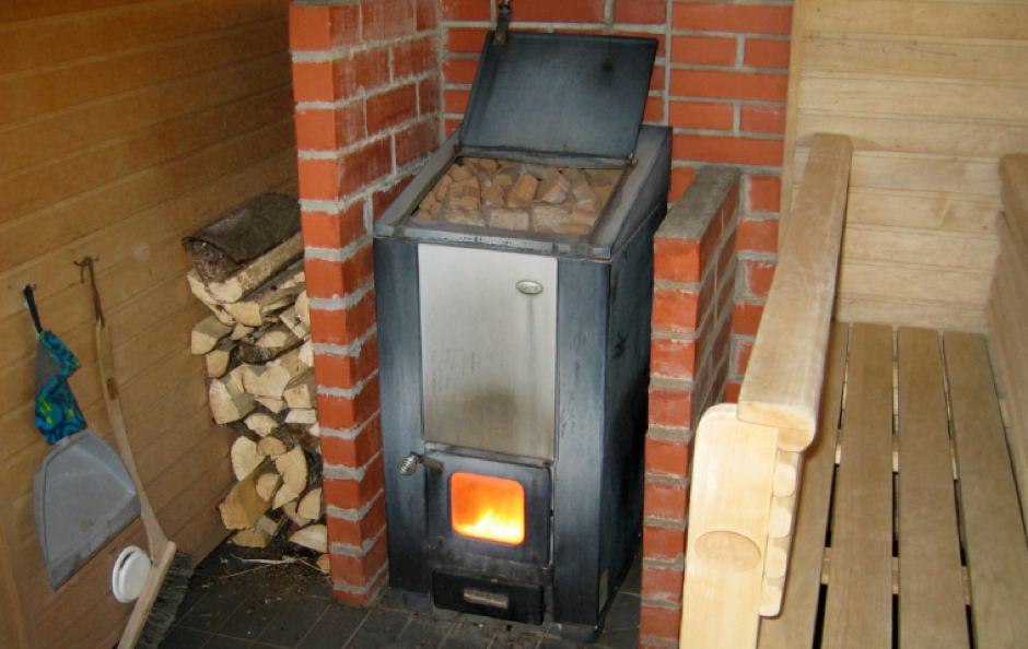 Image showing a log burning stove