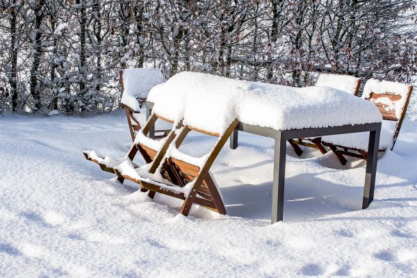 Winter can damage garden furniture not stored away  correctly
