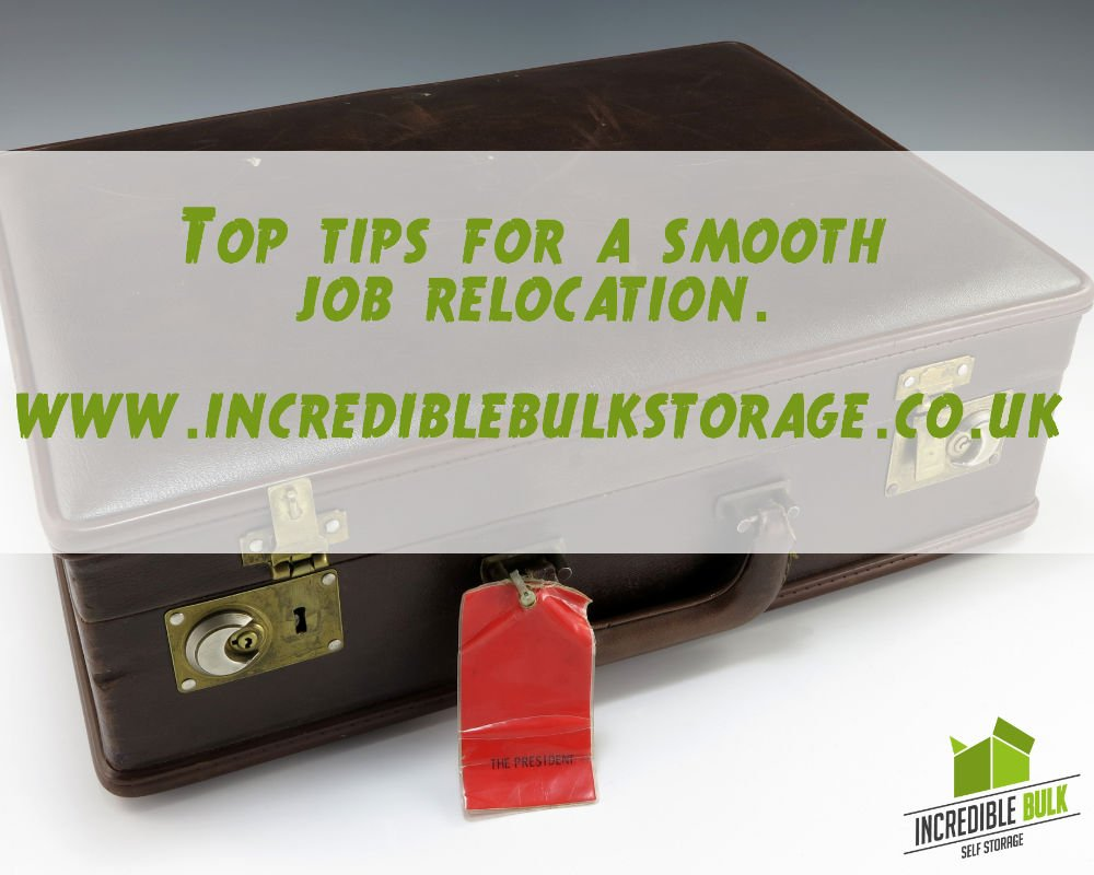 Top Tips for a Smooth Job Relocation