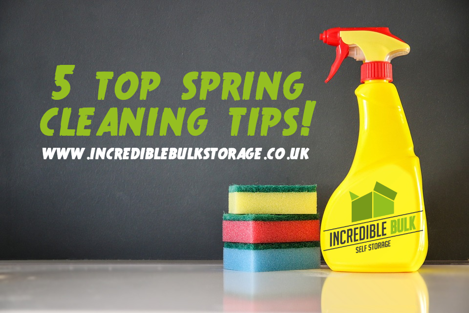 5 Top Spring Cleaning Tips