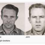 John and Clarence Anglin, the escaped convicts of Alcatraz.