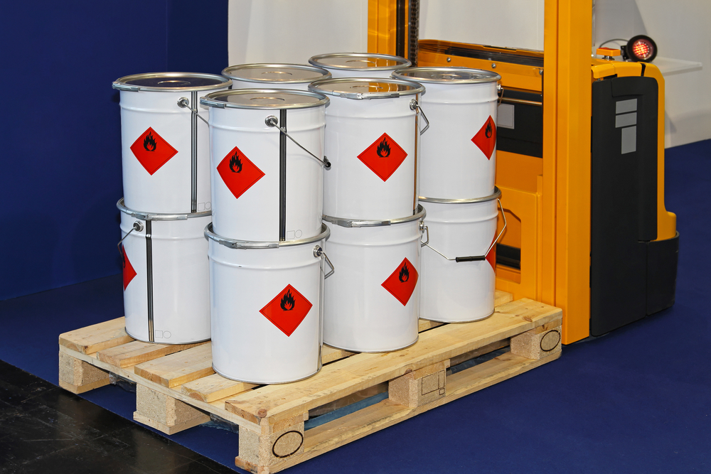 Certain materials and liquids can not be stored at normal self-stoage facilities.