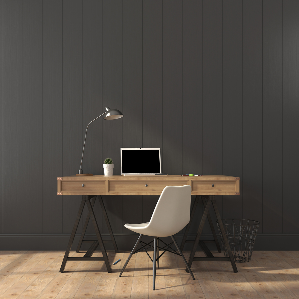 Comfortable office furniture will help reduce aches and pains.