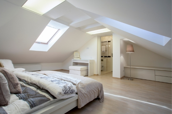 A loft bedroom is the perfect way to create more space within a home.