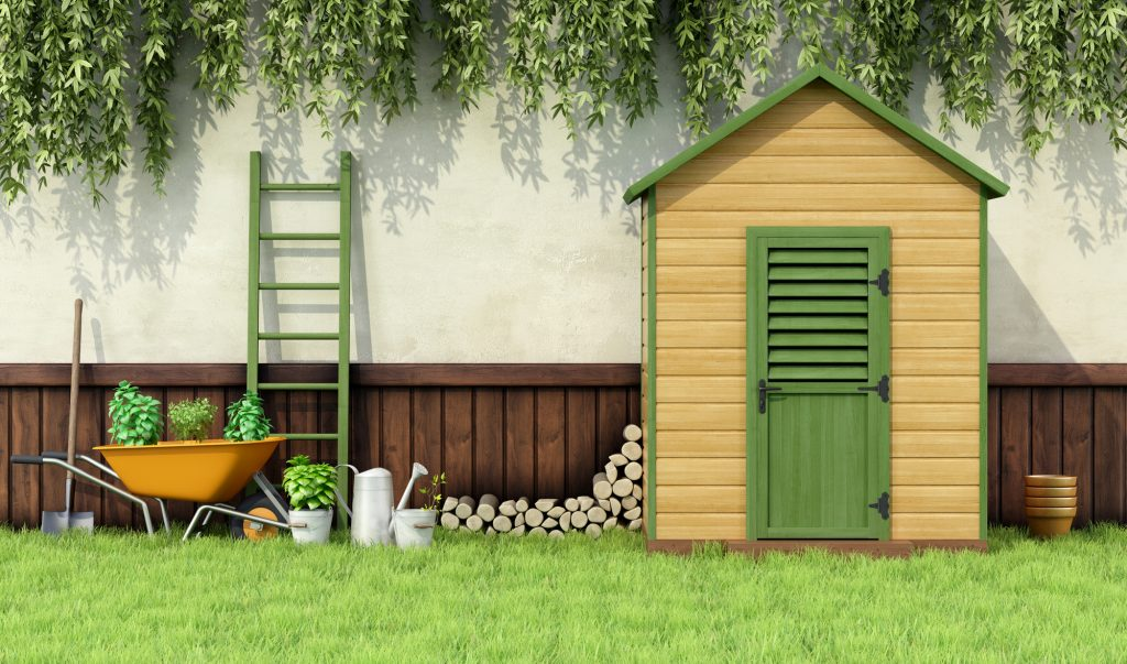 Amazing Storage Ideas For Your Garden